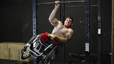 Wheelchair Workout: Meet the Inspirational Amputee Crossfit Trainer