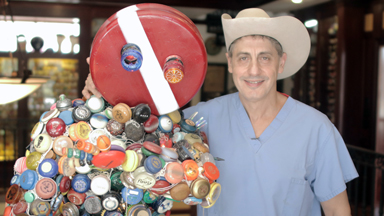 Meet The Doctor Who Owns The World's Largest Yo-Yo Collection