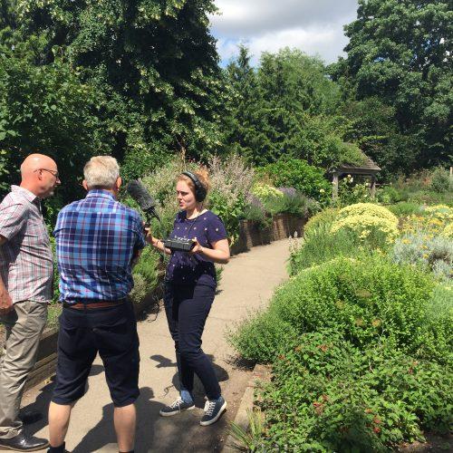 BBC Radio 4's Gardeners' Question Time comes to Cambridge University Botanic Garden