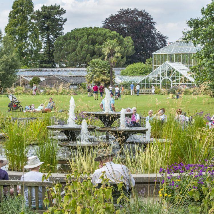 A short film about Cambridge University Botanic Garden