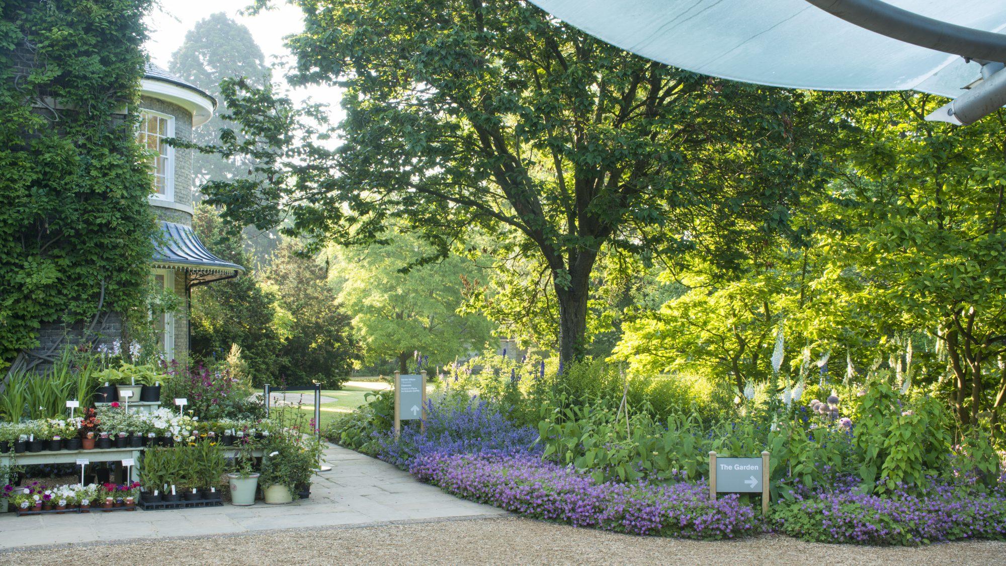 The garden entrance.