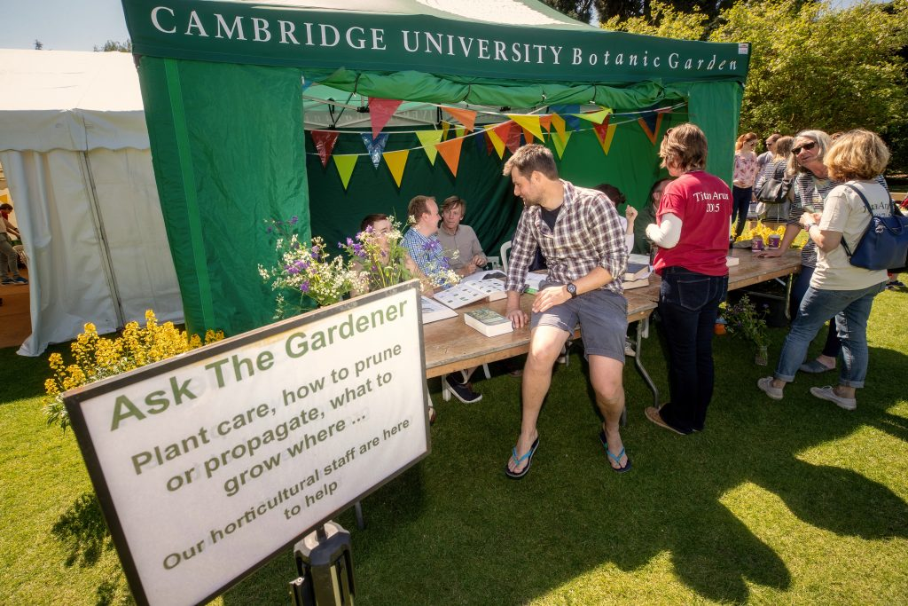 'Ask-the-Gardener' experts on hand to answer questions
