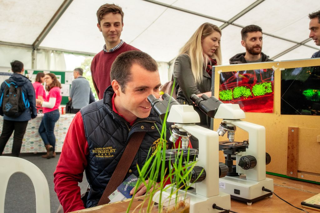 Plant science demonstrations and meet the scientists