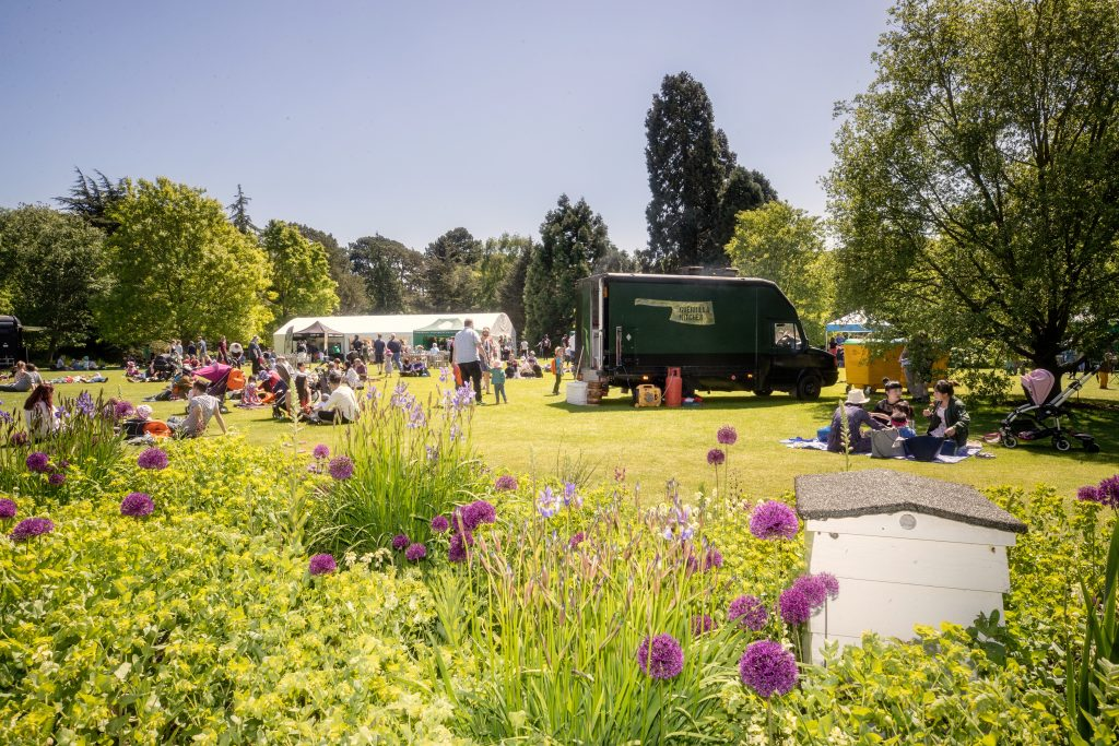 Festival of Plants on the Main Lawn.