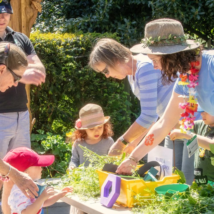 Volunteering at the Garden