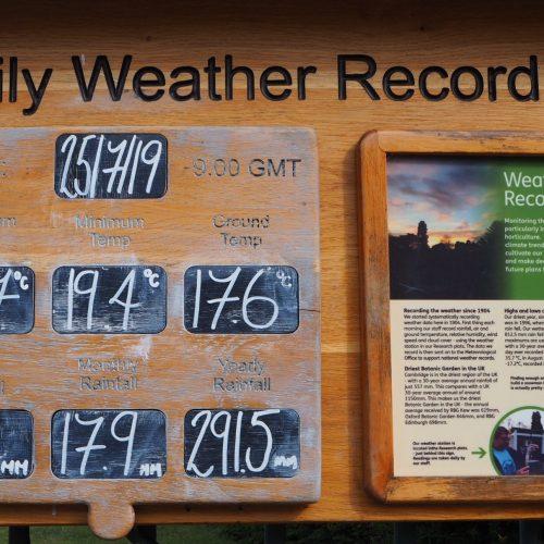 Cambridge University Botanic Garden records highest ever UK temperature