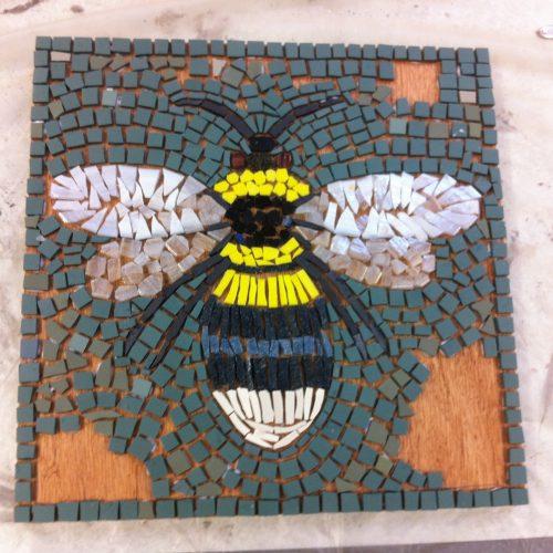 Garden inspired mosaics: January
