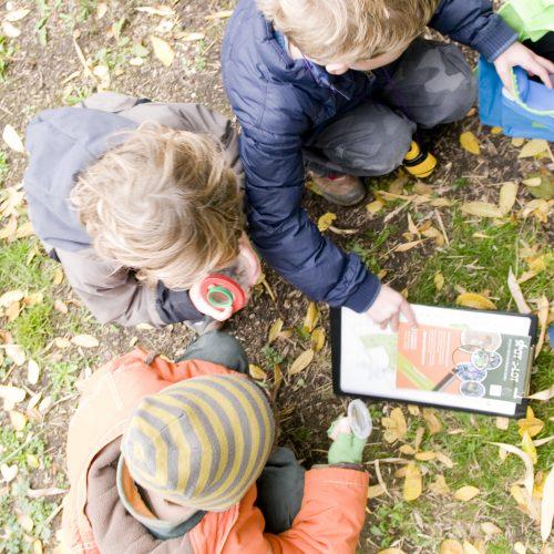 Halloween GPS Treasure Hunt