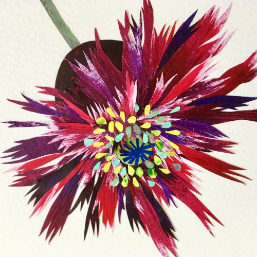 FULLY BOOKED Introduction to flower collage
