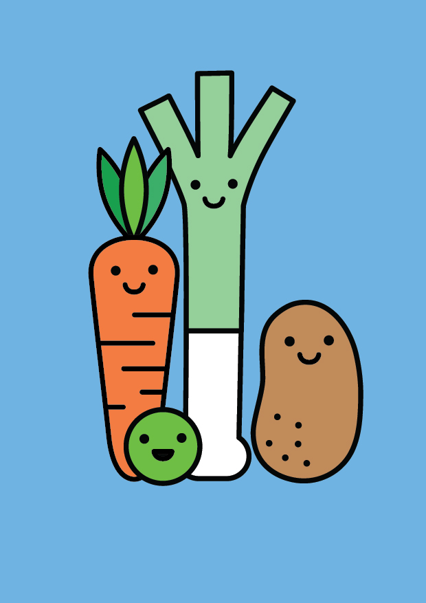 Vegetable Families