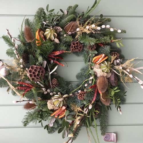 Friends' Wreath-Making Workshop morning