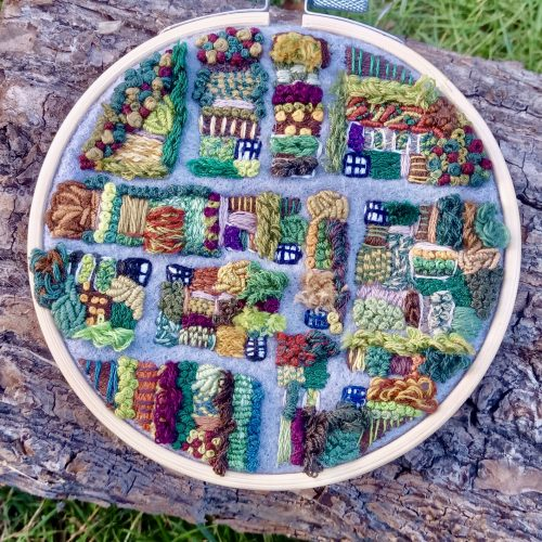 FULLY BOOKED Hand sewing techniques: embroidering an allotment