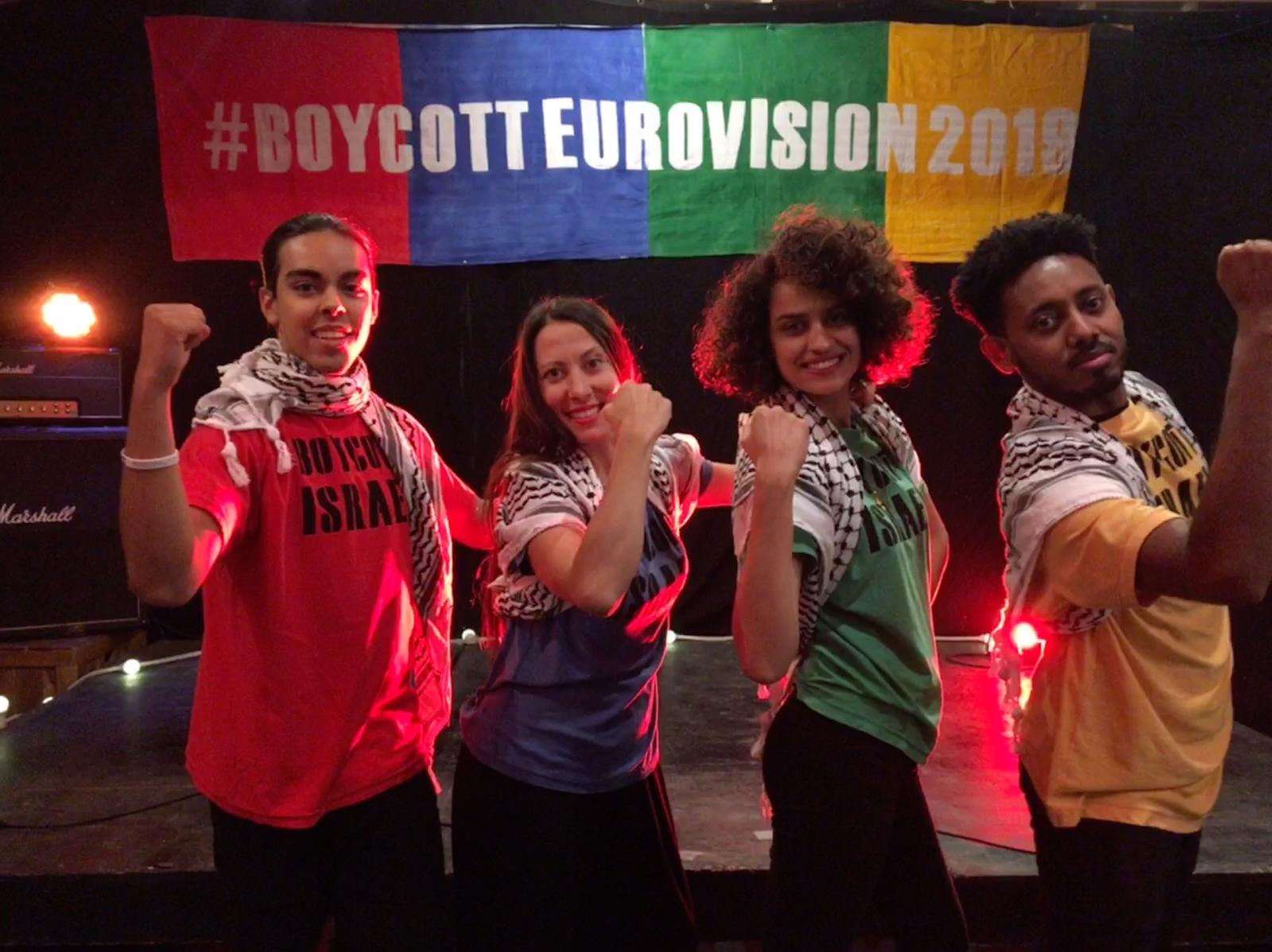 'Boycott Israel Eurovision' song released by London activist group