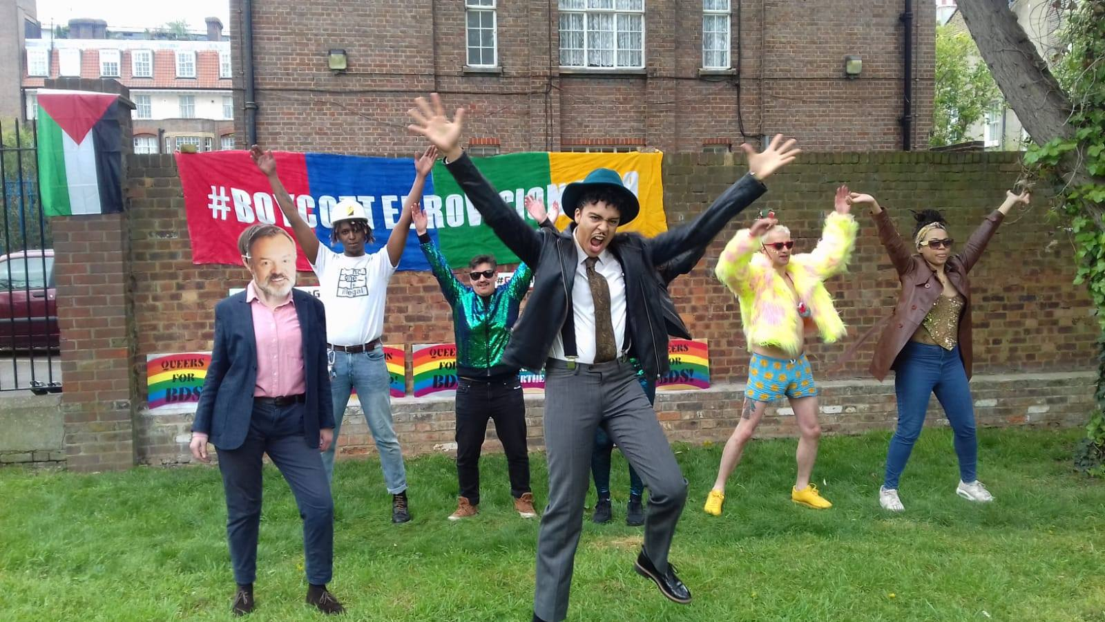 Queer activists spoof YMCA in Graham Norton appeal to boycott Eurovision
