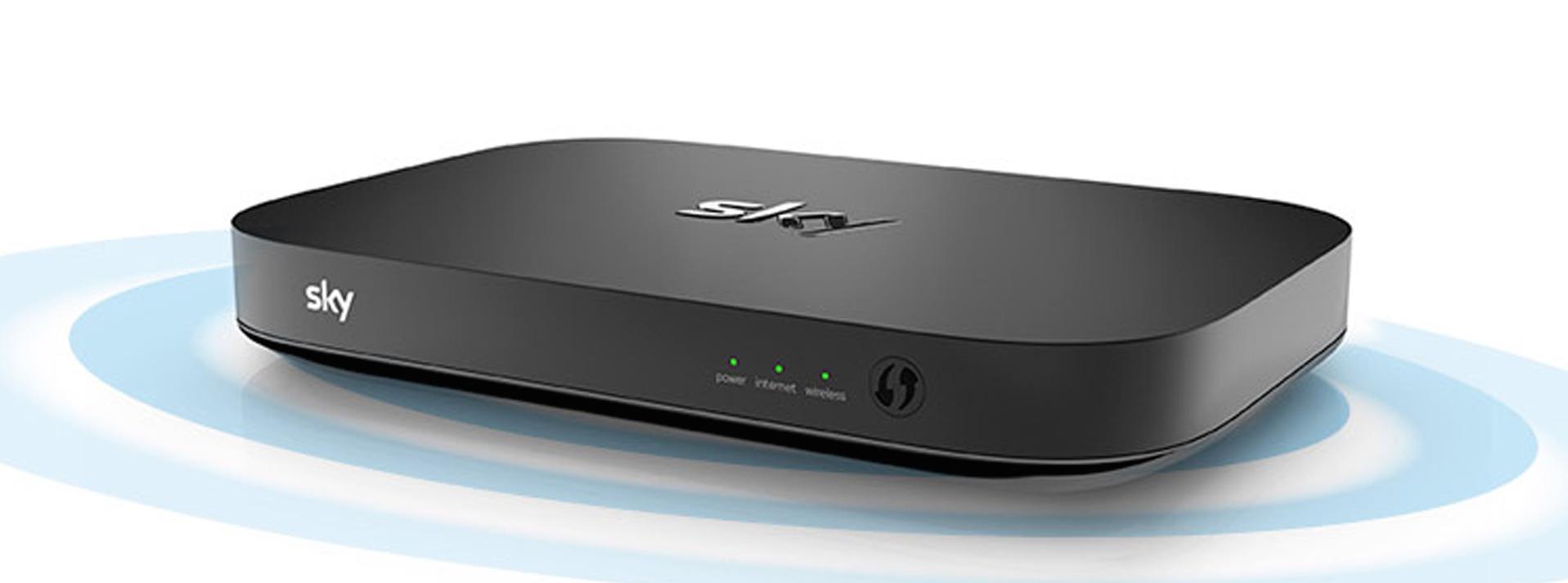Sky Q router