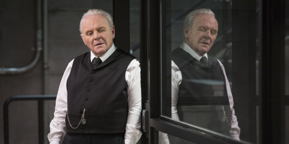Dr Robert Ford, as played by Anthony Hopkins