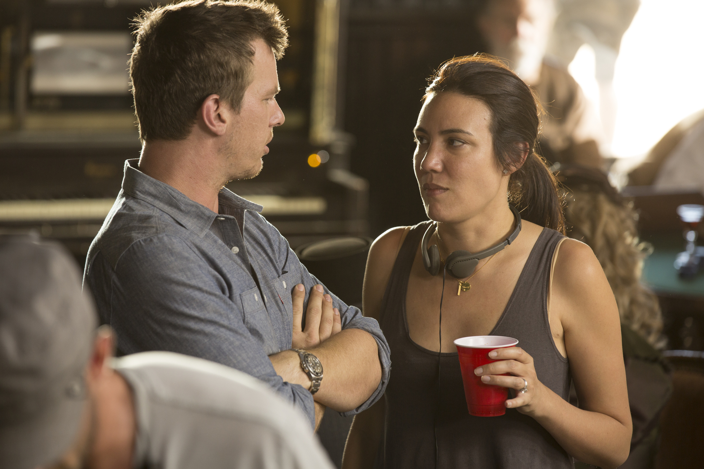 Series co-creators Jonathan Nolan and Lisa Joy