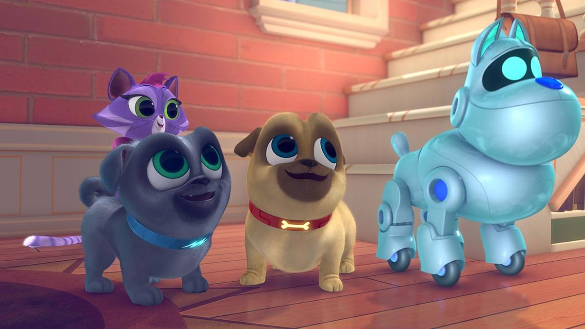 puppy dog pals on Virgin TV