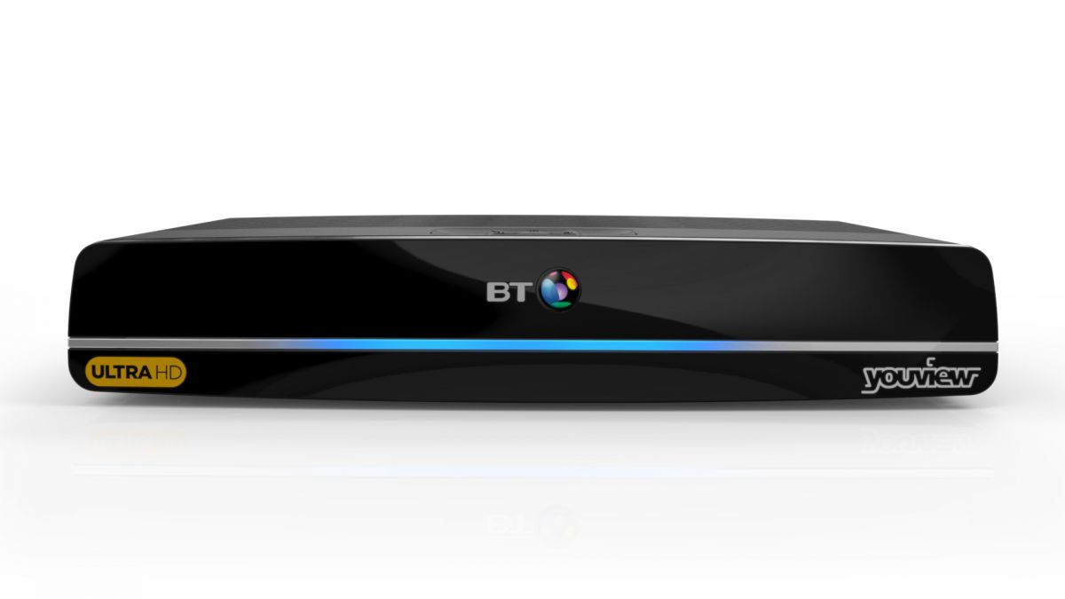 BT TV youview plus box