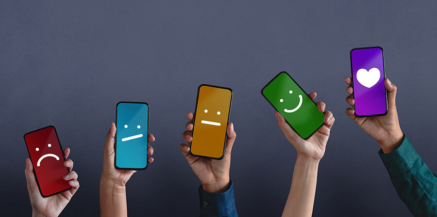Happy mobile phones