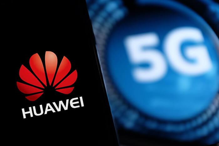 5G Huawei logo