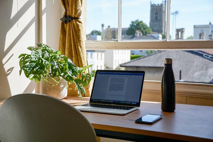Computer workspace