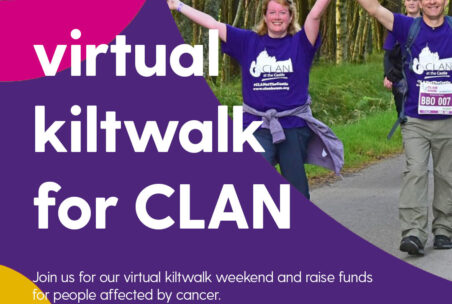 Virtual Kiltwalk social graphic