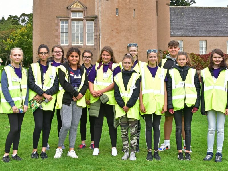 Young Ambassadors CLAN Walk