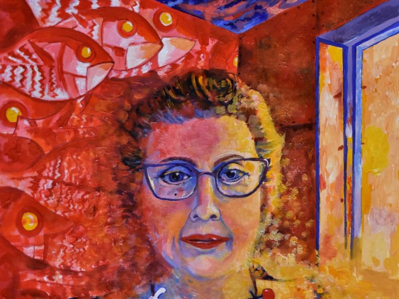 Alison Chandler self portrait