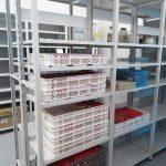 BTAM - Sala para arquivamento de amostras líquidas