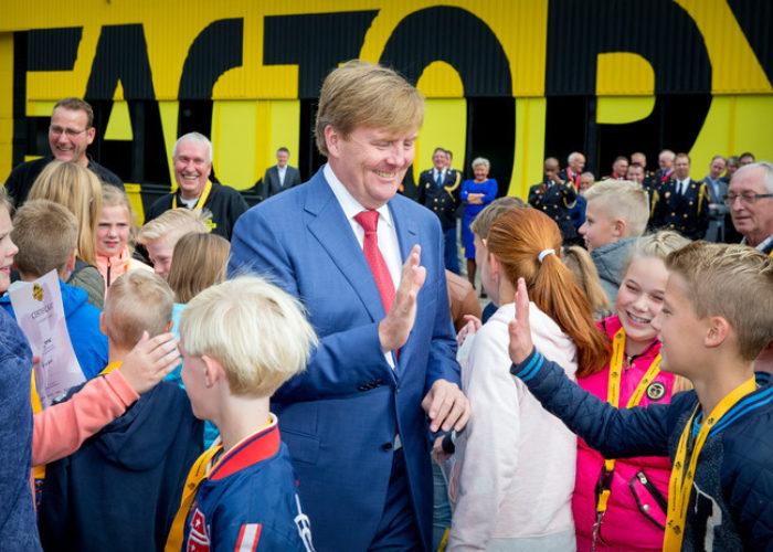ZKH Koning Willem-Alexander komt op bezoek