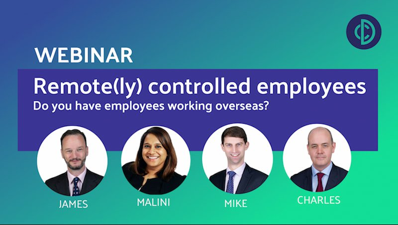 Remote(ly) controlled employees - Do you have employees working overseas?