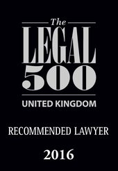"""Steely but sensible."" Legal 500 Guide 2016"