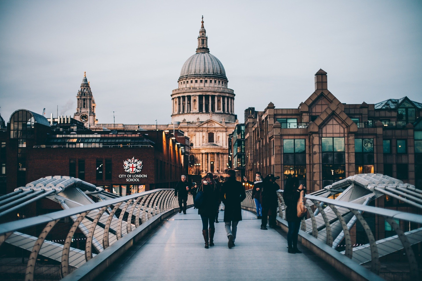 image of london with St Paul's