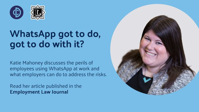 Information Technology: WhatsApp got to do, got to do with it?