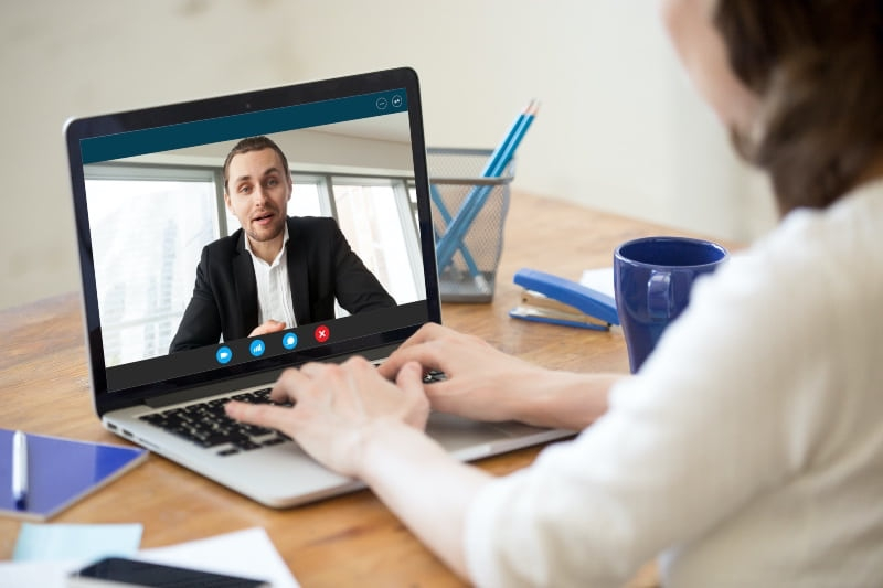 Employment lawyer working remotely