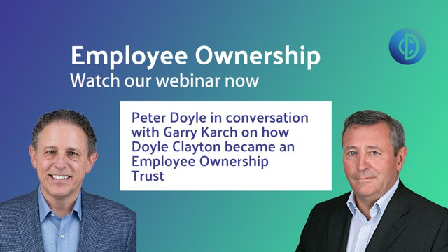 Employee Ownership - A Conversation with Peter Doyle CEO