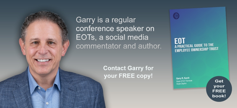 EOT Banner with Garry Karch