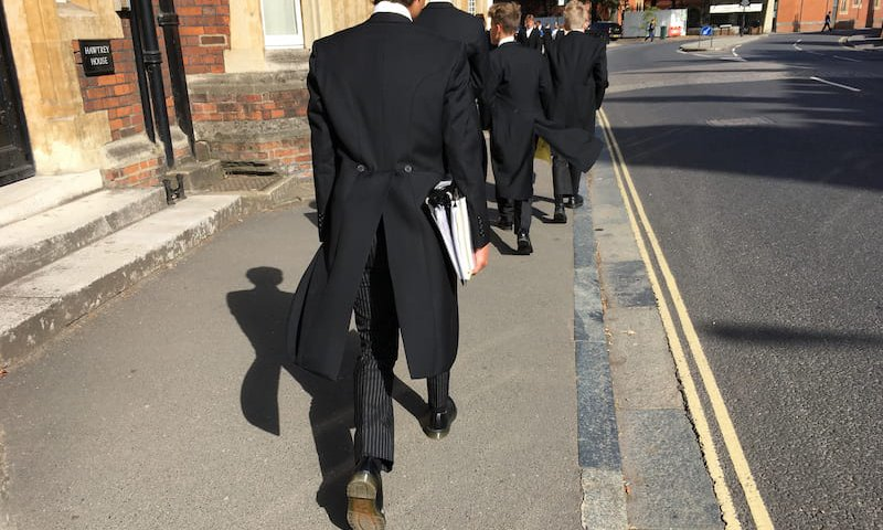 Press Release : Eton teacher - no case to answer. Not guilty of professional misconduct.
