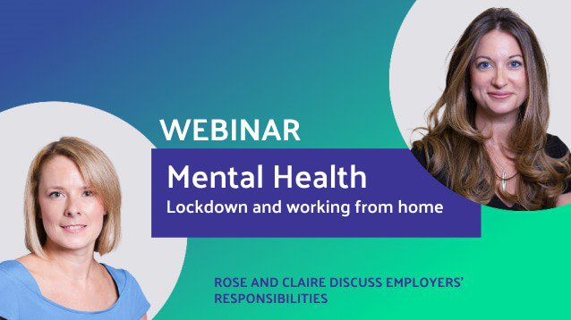 Mental Health Lockdown and Working from Home (Session 1)