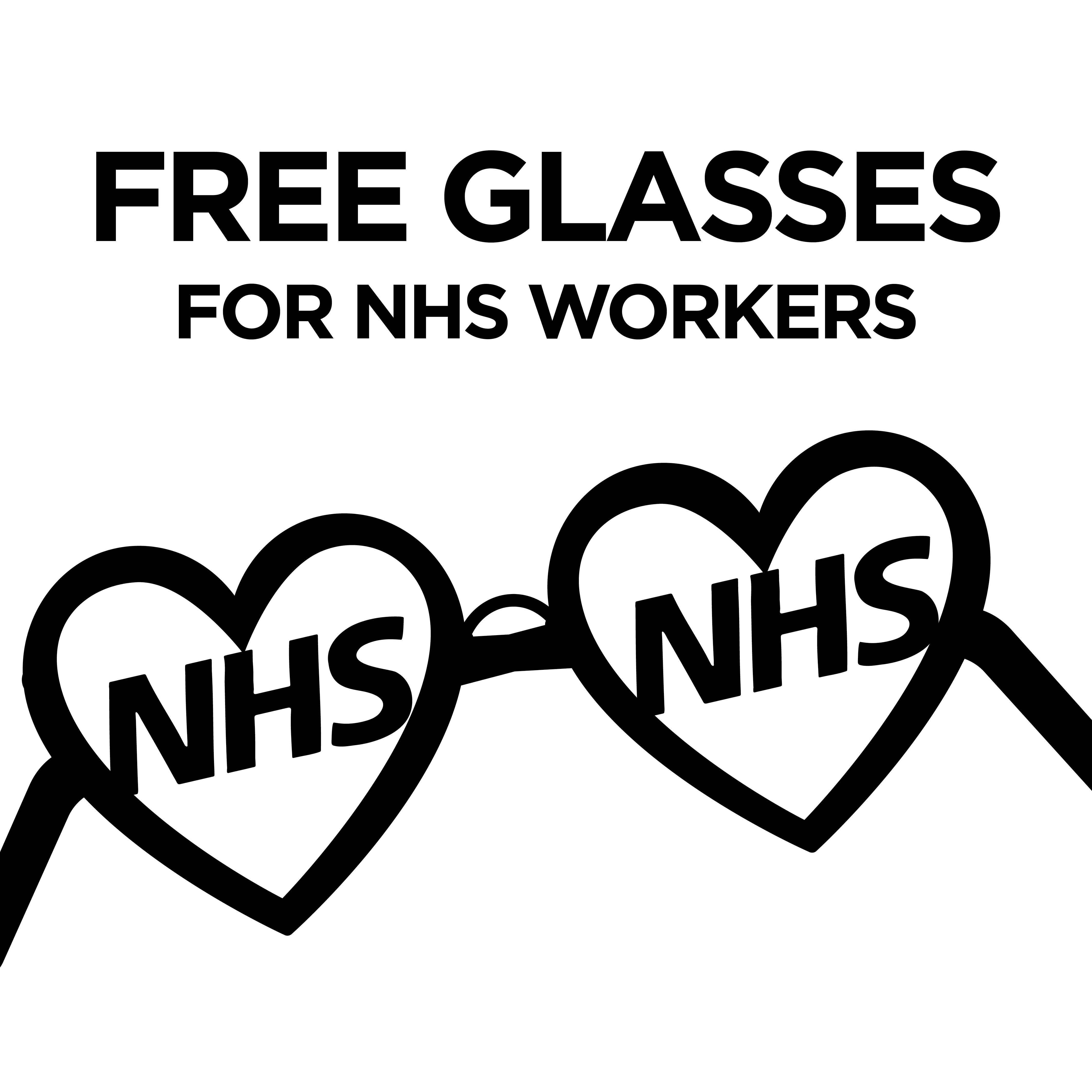 Free Glasses for NHS Scotland Workers