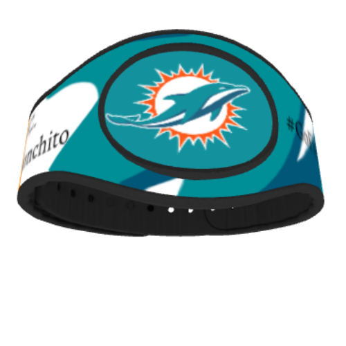 Miami Dolphins MagicBand 2 Skin