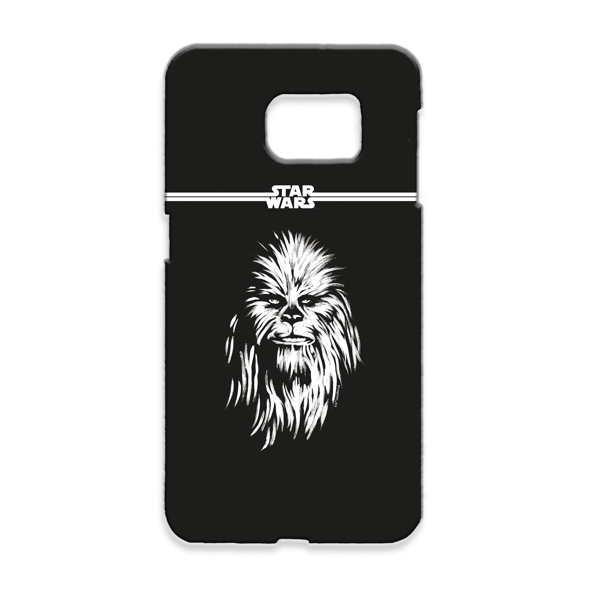 Star Wars Chewbacca Paint Samsung Phone Case