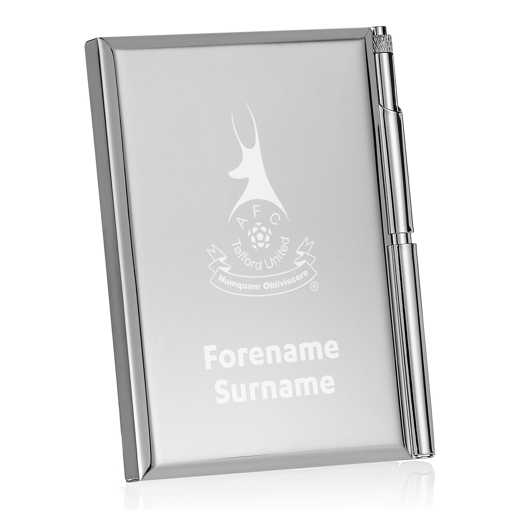AFC Telford United Crest Address Book