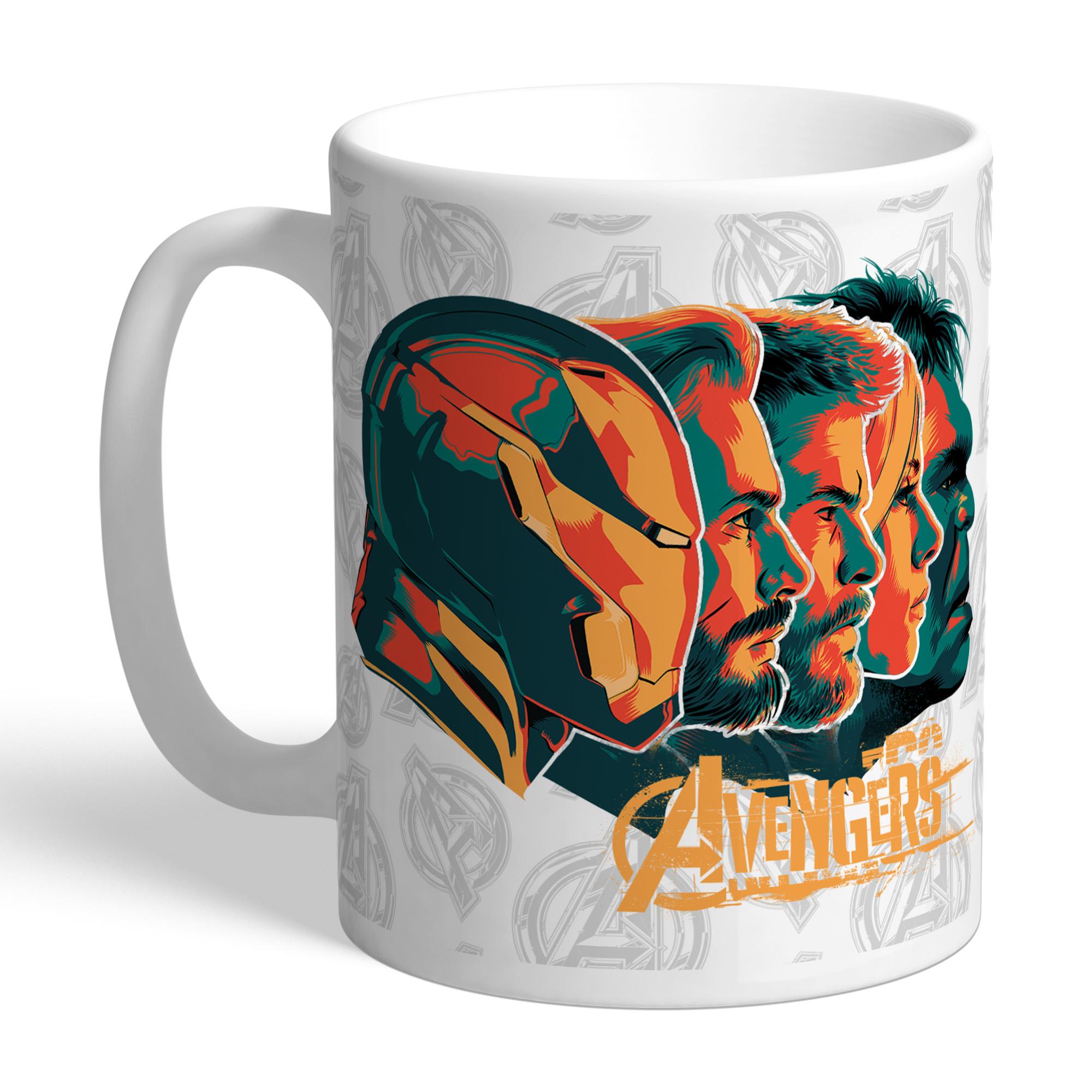 Marvel Infinity War Avengers Headshots Mug