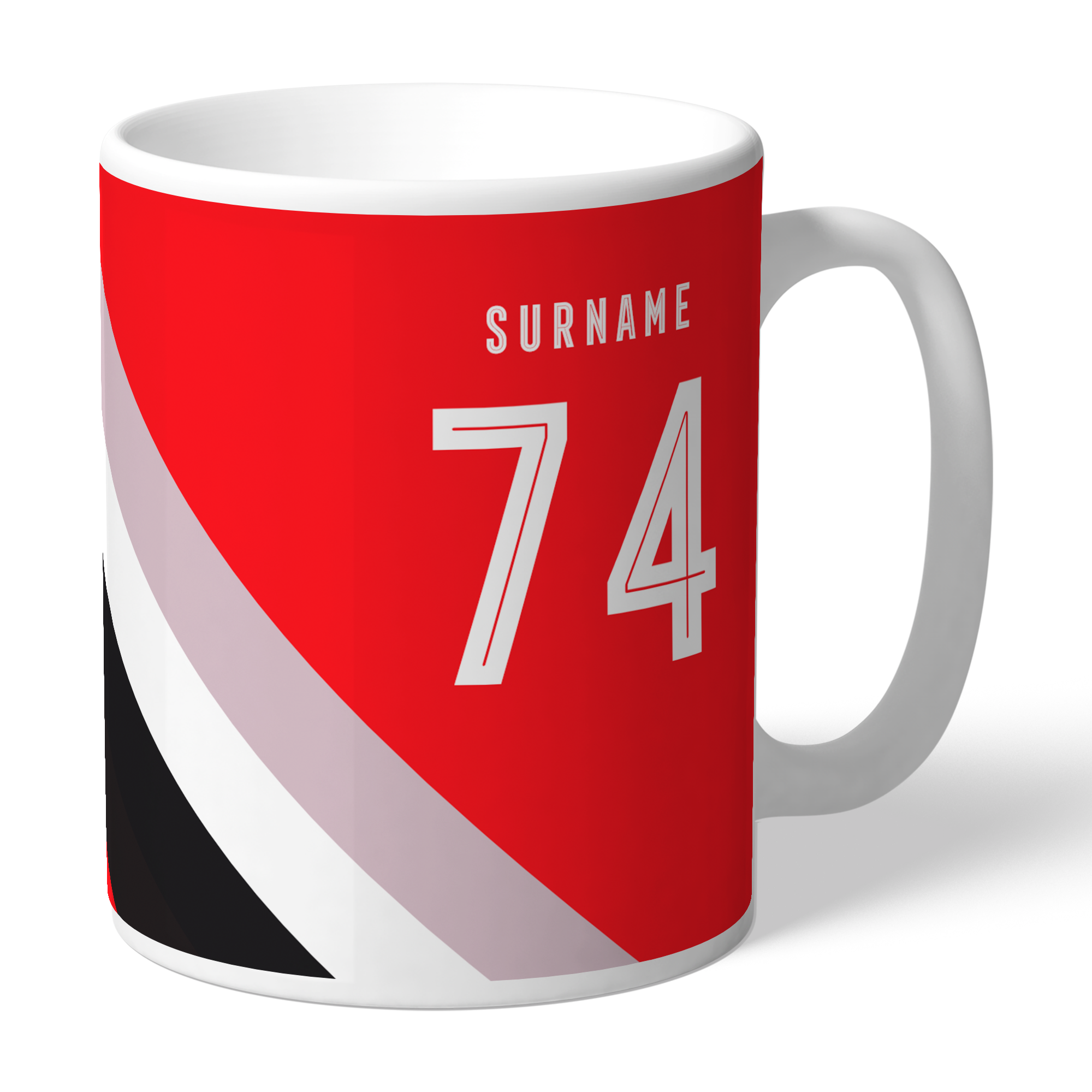 Sheffield United FC Stripe Mug