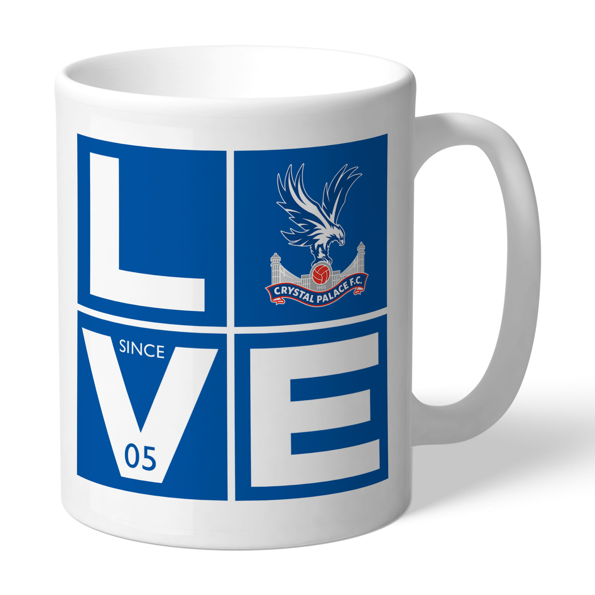 Crystal Palace FC Love Mug