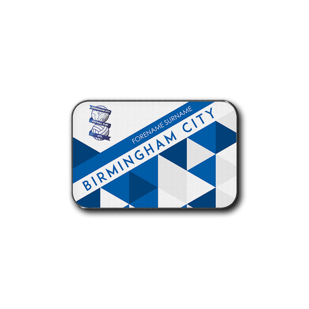 Birmingham City FC Patterned Rear Car Mat