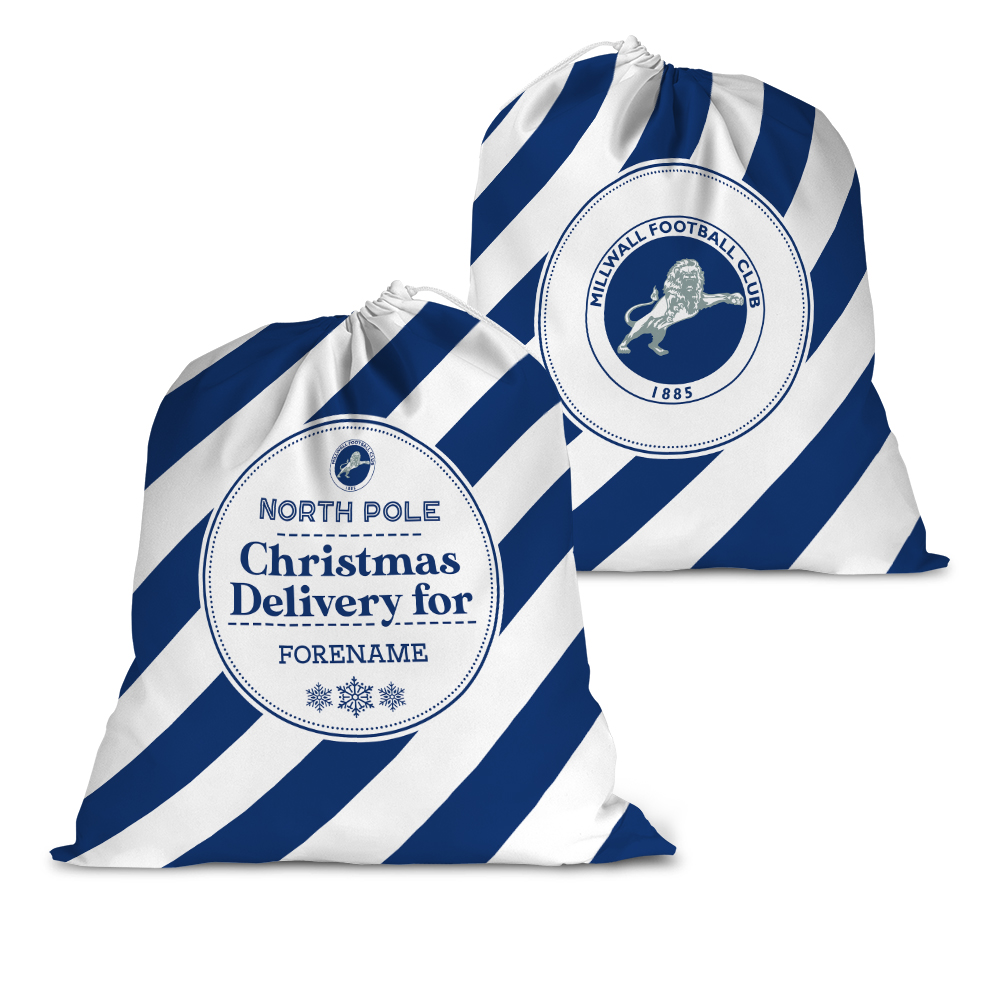 Millwall FC Christmas Delivery Santa Sack