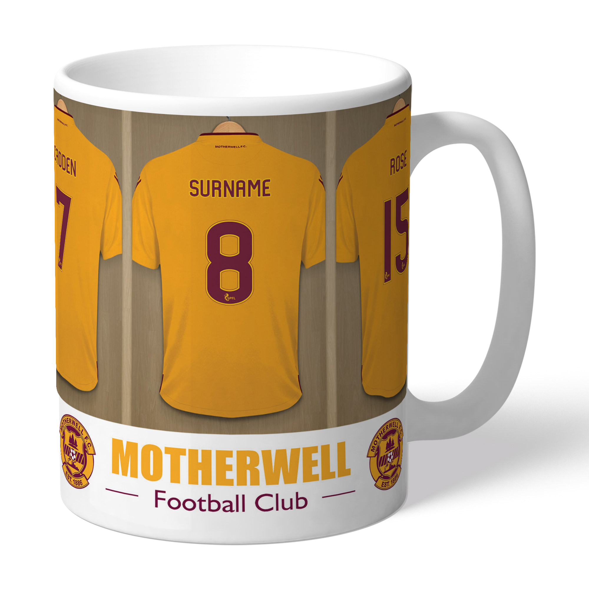 Motherwell FC Dressing Room Mug